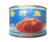 禾景天酱汁鱼肉罐头罐装