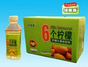 350mlx24瓶绿蜜康6个柠檬