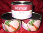 宝达猪肉糜罐头397克