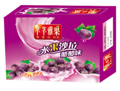 芊芊雅果葡萄味水果沙拉箱