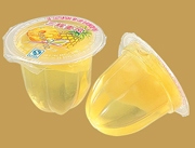 菠萝味果冻25g真果肉果冻