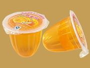 香橙味果冻25g真果肉果冻