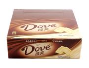 德芙巧克力奶香白