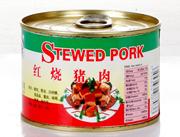 创佳红烧猪肉罐头-红罐