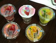 三辉果味果冻