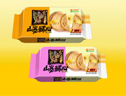 思维特200克山寨酥心香橙味、红枣味饼干