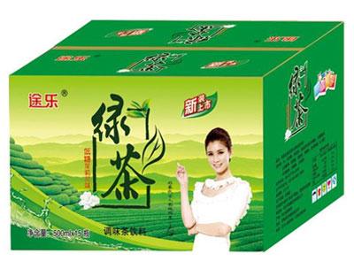途乐绿茶500mlx15瓶