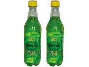 百事康新汽水柠檬味绿