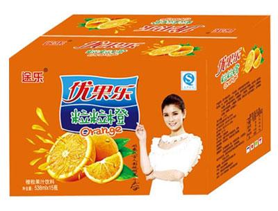 途乐粒粒橙538mlx15瓶