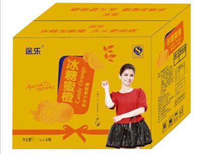 途乐冰糖蜜橙箱子