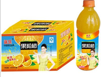途乐果粒橙450mlx15瓶
