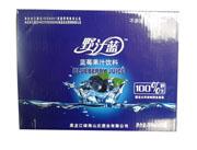 野汁蓝蓝莓果汁饮料300ml×20瓶
