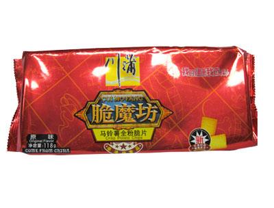 川蒲脆魔坊118g原味马铃薯脆片