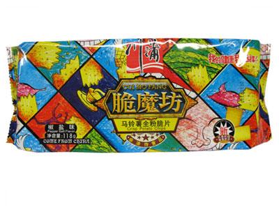 川蒲脆魔坊118g椒盐味马铃薯脆片