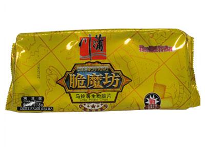 川蒲脆魔坊118g烤鸡味马铃薯脆片