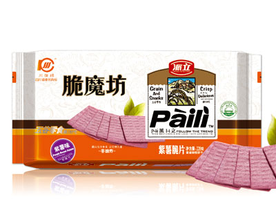 228g紫薯味脆魔坊红薯脆片