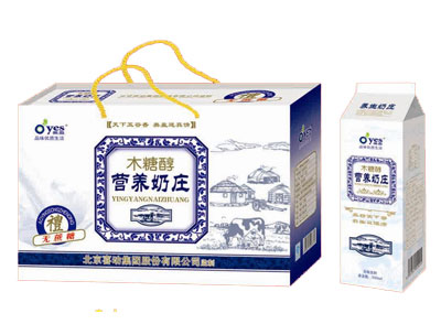 木糖醇营养奶庄500ml礼盒