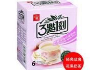 3�c1刻玫瑰花奶茶