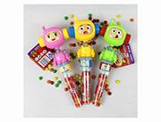 蓝猫儿童玩具糖果机器人摇头哨