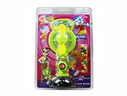 蓝猫儿童玩具糖果卡通动物手动风扇(绿)