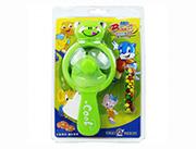 蓝猫儿童玩具糖果卡通动物手动风扇