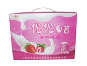 福淋草莓味优优果昔