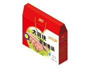 亿嘉人王中王大肉块精制香肠礼盒装