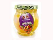 圣诺红塔牌什锦水果杂果罐头200克
