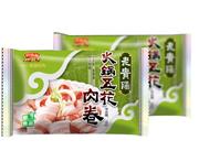 黔五福即烹食品老贵阳火锅五花肉卷