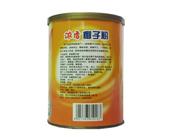 椰世界浓香椰子粉320g反面罐装