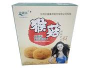 正盛圆猴菇饼木糖醇无蔗糖饼干礼盒