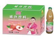 达威桃汁饮料1.5Lx1x8