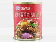 同发240克咖喱牛肉罐头