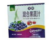 西恒生榨混合果蔬汁838mlx8瓶