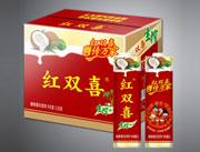 红双喜生榨椰汁1Lx8瓶子