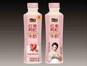 酷之源红枣枸杞牛奶发酵果汁饮料