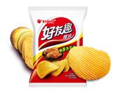 好丽友韩国泡菜味膨化食品