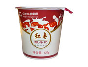 �t��酸牛奶含�t��果汁120g