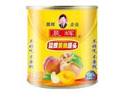晨辉850g黄桃罐头