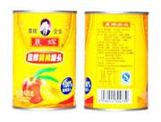 晨辉425g黄桃罐头