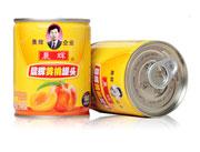 晨辉248g黄桃罐头