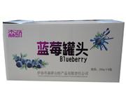 森骄蓝莓罐头