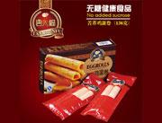 唐人福麦芽糖醇苦荞鸡蛋卷(纸盒装)