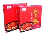 宏易堂鲍鱼粥红盒装320g6罐装