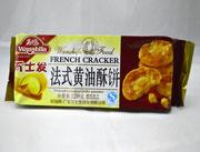 万士发法式黄油酥饼干120g