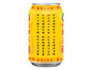 妈酿黄罐甜酒酿无糟饮料背面
