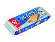 嘉顿牛奶味威化饼干200g