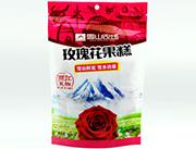 雪山农场玫瑰花果糕150g