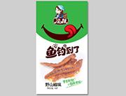 凌妹鱼干野山椒味16g