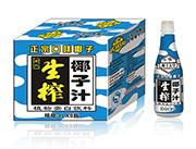 椰子天堂果肉生榨椰子汁1L×8瓶装